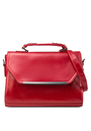 Zolace red Positively Poised Tote Bag ZO350AC68PIPMY_1