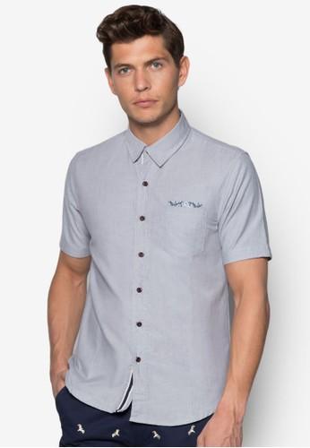 口袋短袖襯衫, esprit 童裝服飾, 襯衫