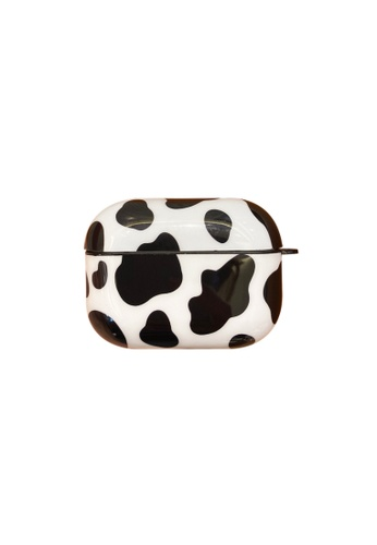 Kings Collection white Cow Pattern AirPods Pro Case (KCAC2207P) B06F1AC1C739D0GS_1