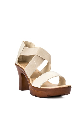 BANDOLINO white Summer Heels BA161SH0JIVSPH_1