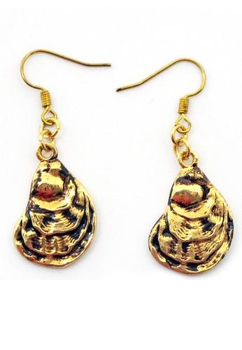 Paulini gold Earring Mussel (G)  PA011AC88YTJMY_1