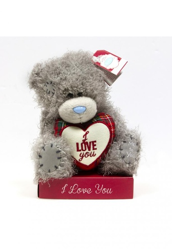 Her Jewellery Me to You Plush Toys -  5″ Tatty Teddy with I Love You Heart FA971TH290FF4AGS_1
