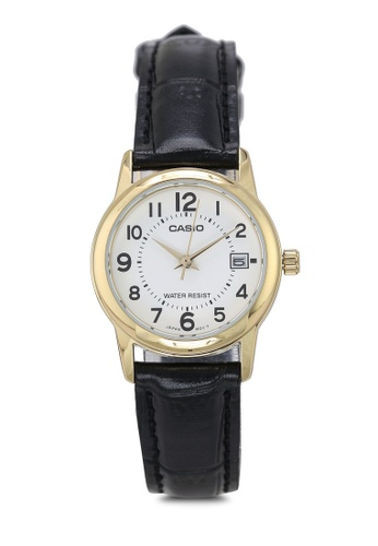 Casio 黑色 Casio LTP-V002GL-7BUDF Watch 6A31EACA214DBEGS_1