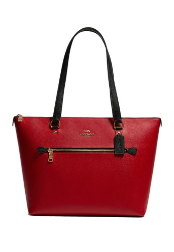 Coach red Gallery Tote Bag (cv) 7E192AC6977757GS_1