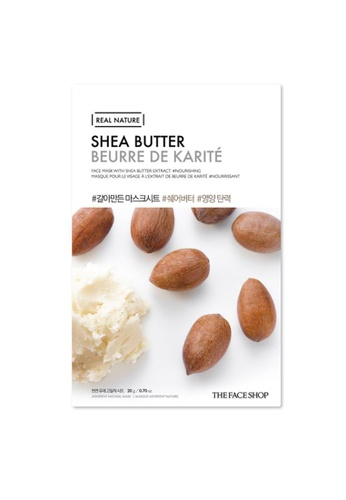 THE FACE SHOP THEFACESHOP Real Nature Mask Sheet - Shea Butter (Bundles of 10) A23D5BE836416CGS_1