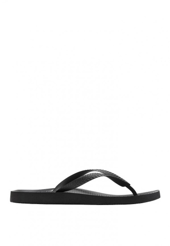 Vionic black Mens Beach Manly Toe Post 9AFE9SHCC1AAD9GS_1