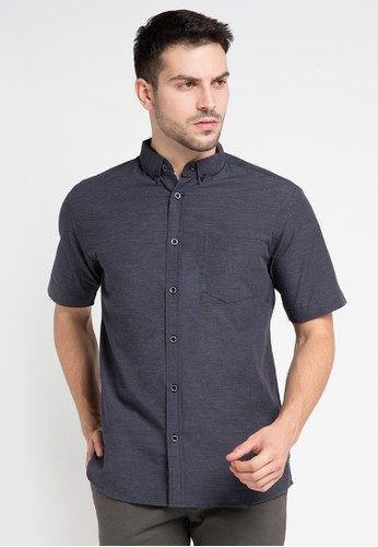 INTRESSE grey Moody Skies Casual Short IN544AA0VQ8MID_1