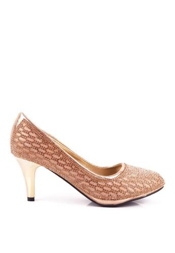 CLARETTE gold Clarette Heels Madeline Gold CL076SH97QICID_1