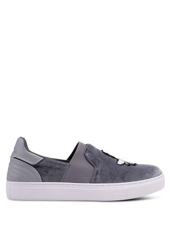 Nose grey Tri Tone Sneakers CA58FSH5E81BCCGS_1