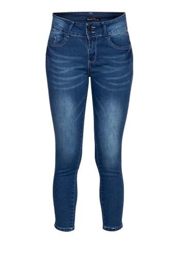 Balaynor blue Skinny Denim Jeans 0580FAABEC4F74GS_1