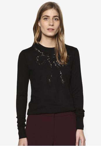 蕾絲蝴蝶結長袖衫, 服飾esprit 旺角, 外套