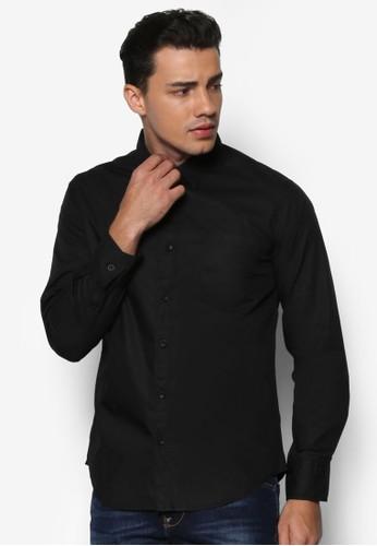 文字網眼拼接長袖襯衫、 服飾、 襯衫24:01文字網眼拼接長袖襯衫最新折價
