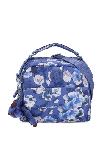 Kipling blue and multi Candy Urban Convertible Backpack 1D665AC5F2667BGS_1