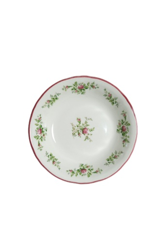 """Claytan Moss Rose With Banding - 5.4"""" Fruit Dish 7179AHL52C37F0GS_1"""
