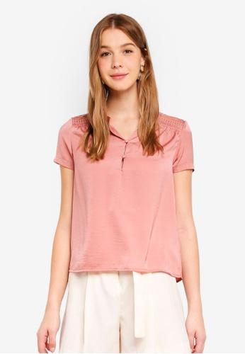 Vero Moda pink Marella Top BB6B8AA19BD150GS_1