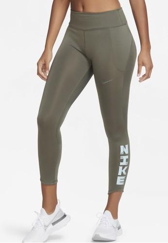 Nike green Women's Icon Clash Fast 7/8 Tights C1070AA02020EAGS_1