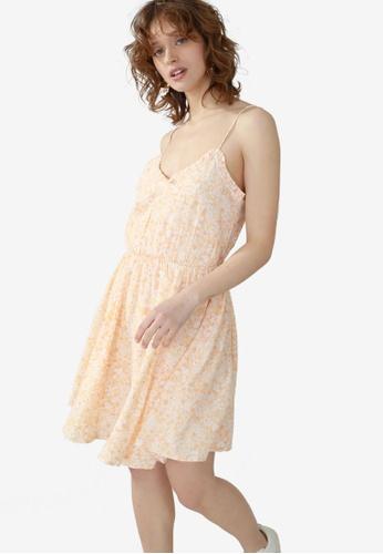 PIMKIE yellow Cami Mini Dress 313E3AA88FB214GS_1