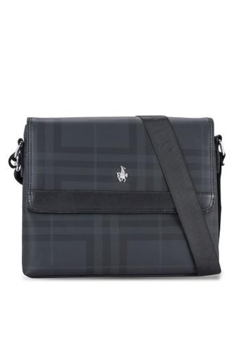 Swiss Polo black Swiss Polo Messenger Bag SW912AC23XFGMY_1