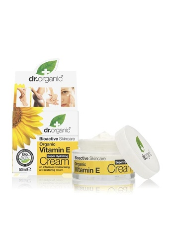Holland & Barrett Dr Organic Vitamin E Cream 50ml BA923ESBCCA1ABGS_1