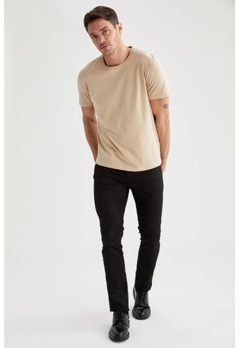 DeFacto black Slim Stretch Trousers 09191AA96385A2GS_1