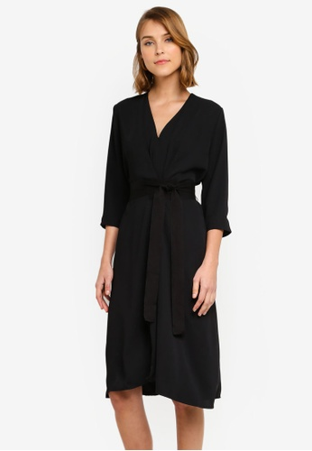eb322e82279d Shop MANGO Wrap Dress Online on ZALORA Philippines