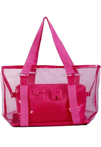 TCWK pink Ladies Handbag TC258AC08XDZMY_1