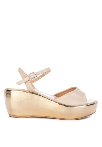 Janylin white Wedge Sandals 2E873SHDFC72EFGS_1
