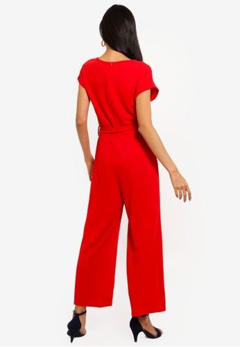 4c433ff4e03 Shop Mela London Capped Sleeve Culotte Jumpsuit Online on ZALORA ...
