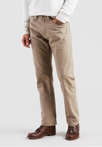 Levi's beige Levi's® 505™ Regular Fit Jeans 00505-0718 B04E3AA663F1D6GS_1