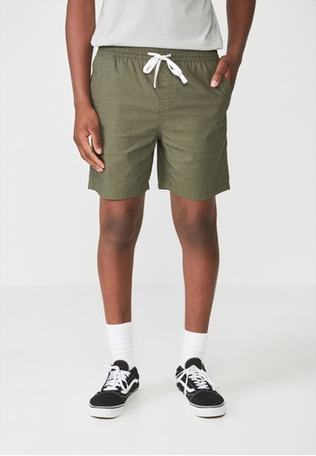 Cotton On green Easy Short D048AAAD55A3D9GS_1