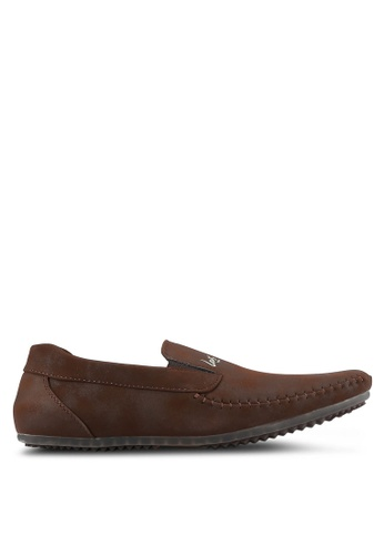 Louis Cuppers brown Casual Loafers LO977SH0S9RSMY_1