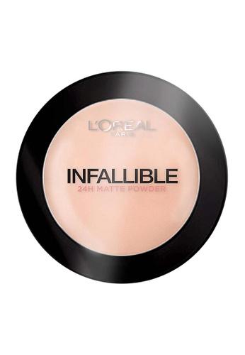L'Oréal Paris beige L'Oreal Paris Infallible 24H Powder Foundation - Sand Beige 160 BA66BBE205F905GS_1