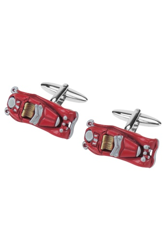 CUFF IT red Vintage Red Car Cufflinks DF046AC2579979GS_1
