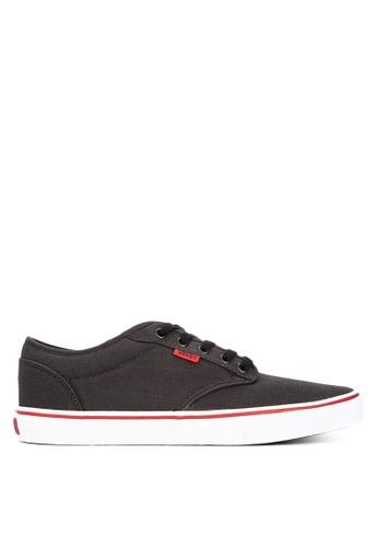 VANS black and multi Atwood Sneakers 974FFSH6465D2CGS_1