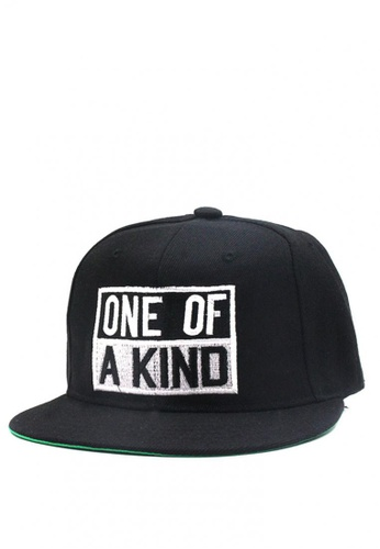 Cap City International black One of a Kind - GD Unisex Hip-hop Snapback Cap cb774e8d30b