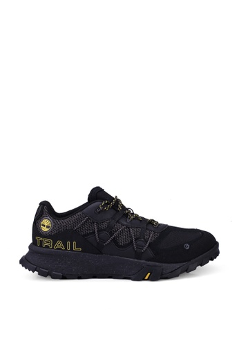 Timberland black Garrison Trail Low Hiking Sneakers CD42BSH40A5564GS_1