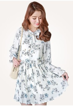 Floral Doll Charming Dress