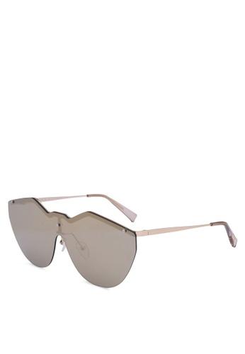 Le Specs gold Noir De Vie 1702075 Sunglasses 5C522GL990A483GS_1