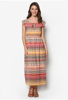 Sleeveless Geometry Dress