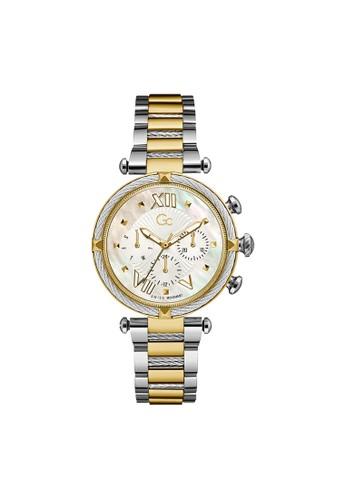 Gc Watch gold Guess watch Gc CableChic Silicone Jam Tangan Wanita Y16020L1MF 1634AACA5F3441GS_1