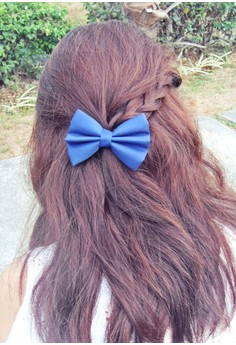 Navy Blue Bow (Small)