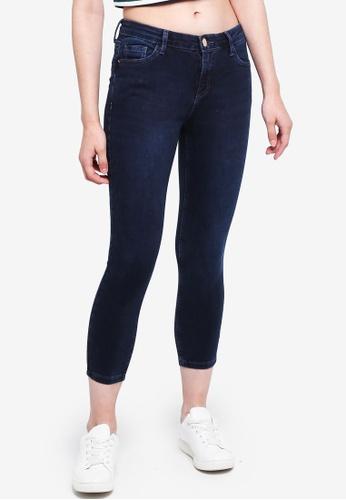 Dorothy Perkins blue Petite Blue Black Darcy Jeans 625C8AA79E81A4GS_1