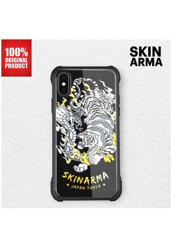Skinarma black Casing iPhone XS Max Skinarma - Gosu Glass - Tora A6D5DESF3157EDGS_1