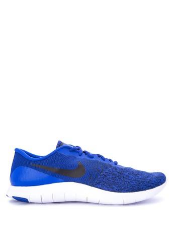 Nike blue Men's Nike Flex Contact Running Shoes NI126SH0WCLFID_1