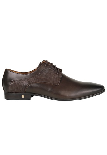 Tomaz brown Tomaz F181 Lace Up Formal (Coffee) 4A12DSH724E51BGS_1