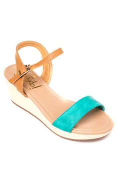 Chris Wedge Sandals