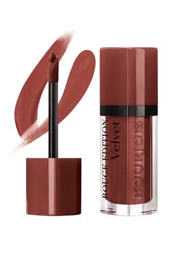 BOURJOIS red Bourjois Rouge Edition Velvet Lipstick #33 Brun'croyable 25F58BE21BA90CGS_1
