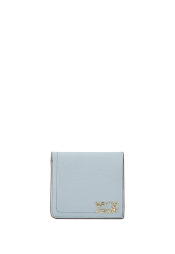 Braun Buffel blue Thonet 2 Fold Centre Flap Wallet 91A62ACE067FDCGS_1