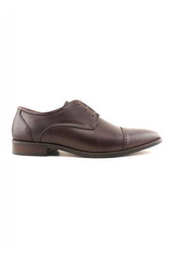 Hanson Bootmaker brown Hanson Bootmaker Lace Up Derby HA656SH35HMMSG_1