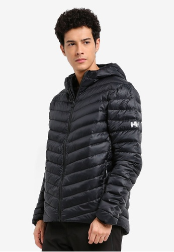 Helly Hansen black HH M VERGLAS HOODED DOWN INSULATOR BLACK D0A86AA9D94AE5GS_1